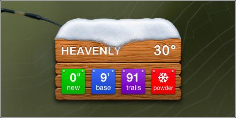Snow Widget