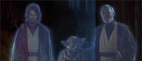The Jedi line-up.